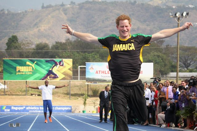 Prince Harry Challenges Usain Bolt In Twitter Tease