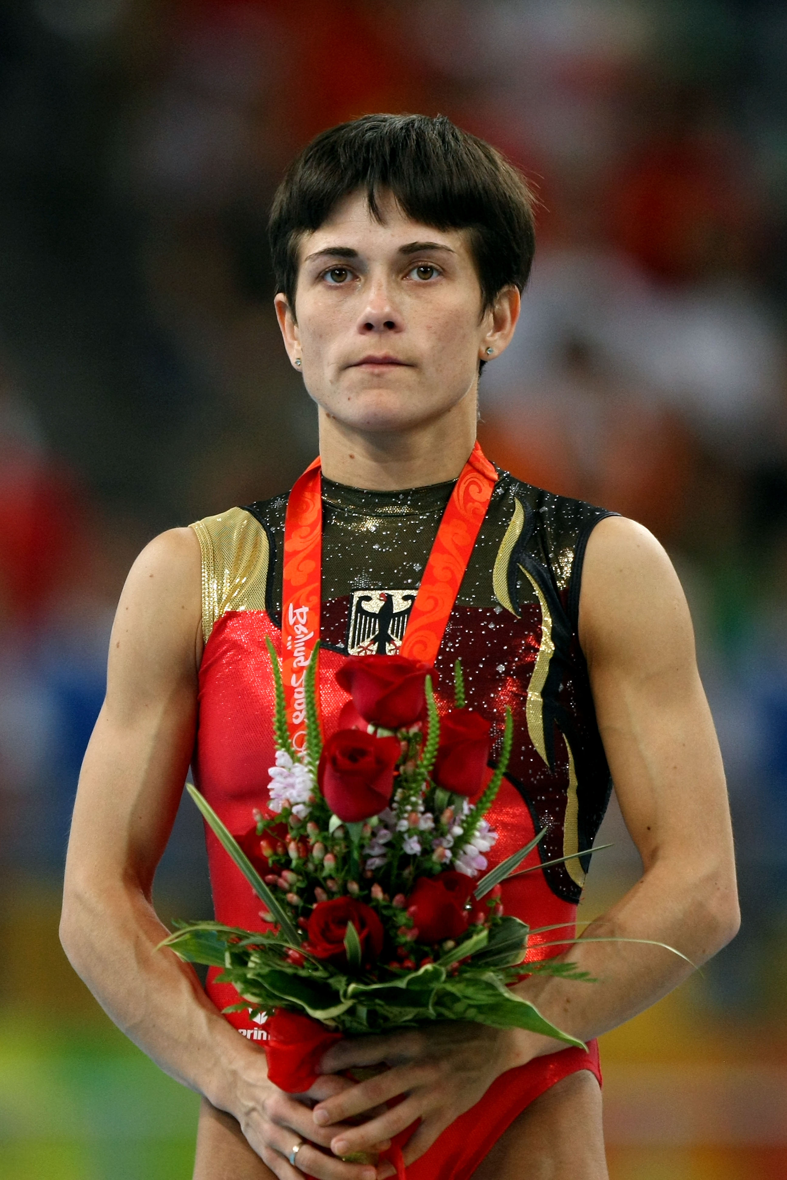 This 41 Year Old Olympic Gymnast Keeps Competing For Inspirational Reason GettyImages 82389034