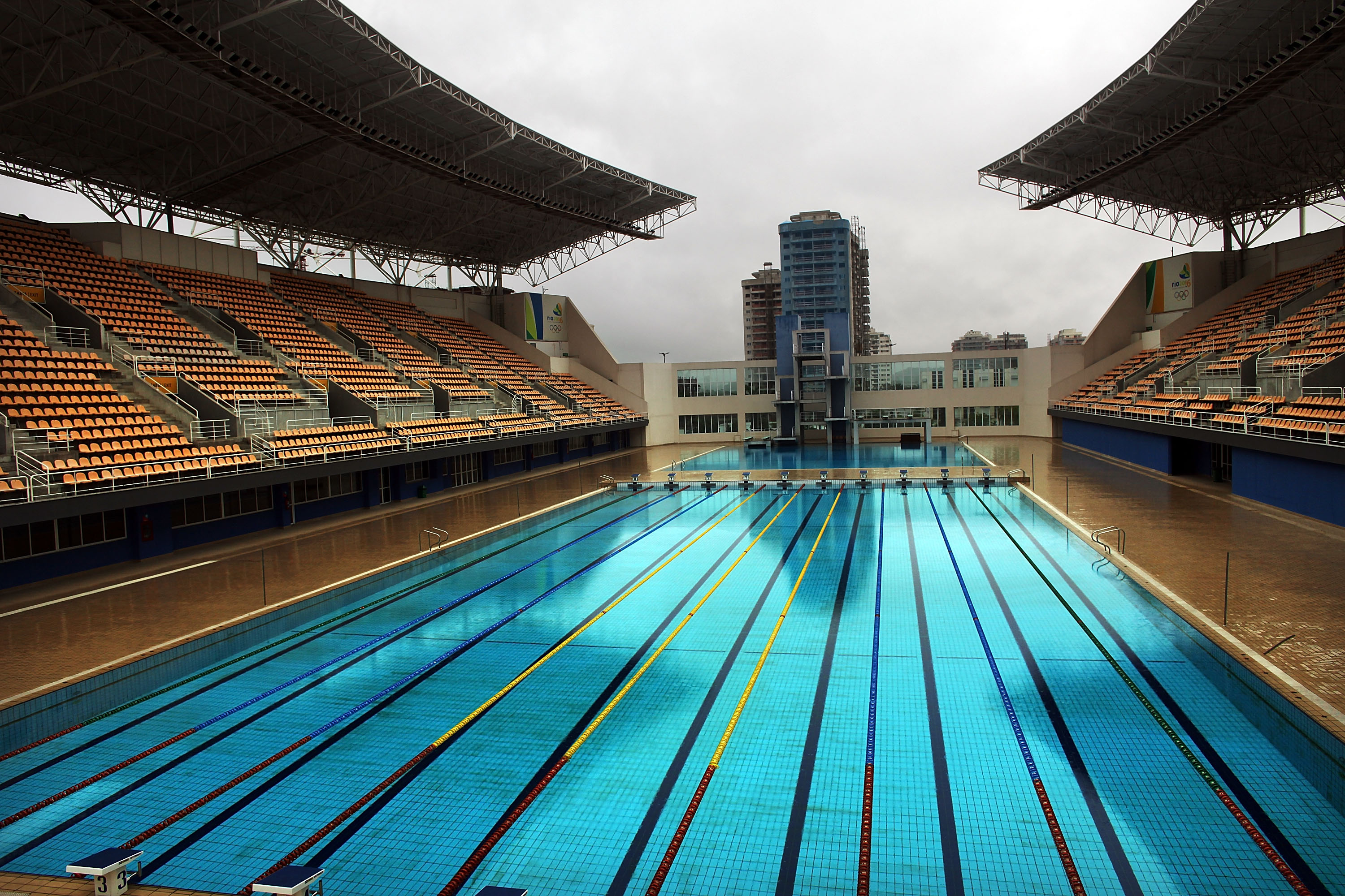 GettyImages 94265820 Theres A Massive Conspiracy Theory About The Rio Olympic Pool