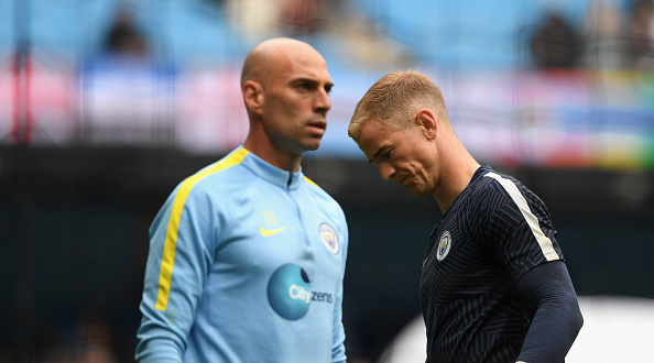Hart Caballero Getty Guardiola Makes Huge Claim About Dropping Star Players