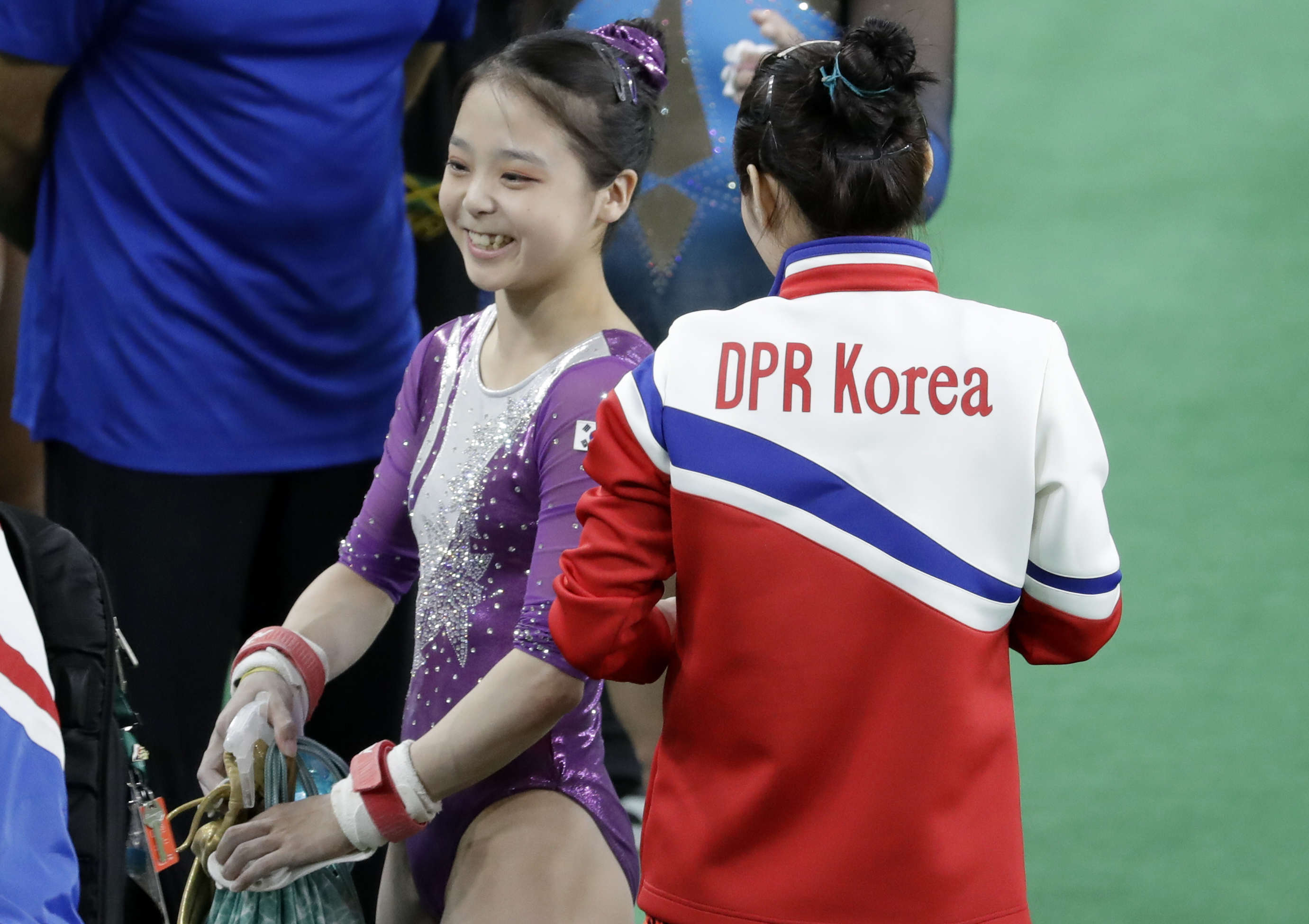 PA 28261525 1 This Is How North Korea Will Respond To That Gymnasts Selfie