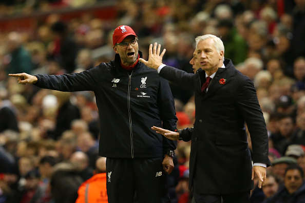 Pardew Klopp Getty Klopp Accepts Unwanted Star In Squad After Failure To Sell