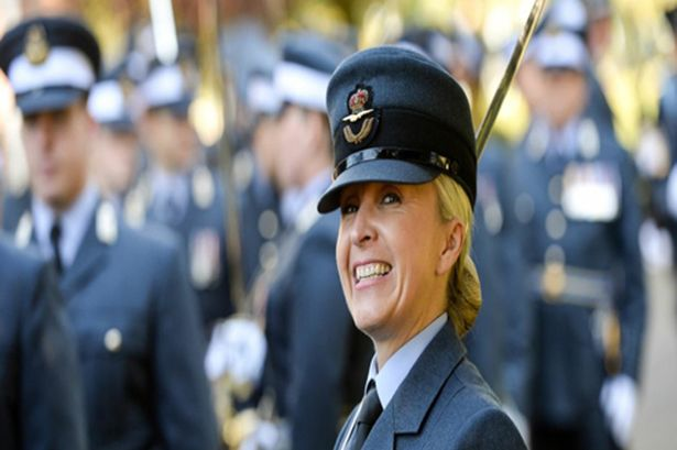 Squadron Leader Helen King 1 RAF Officer Sends Topless Pic To Boyfriend, Accidentally Tags Dutch Army