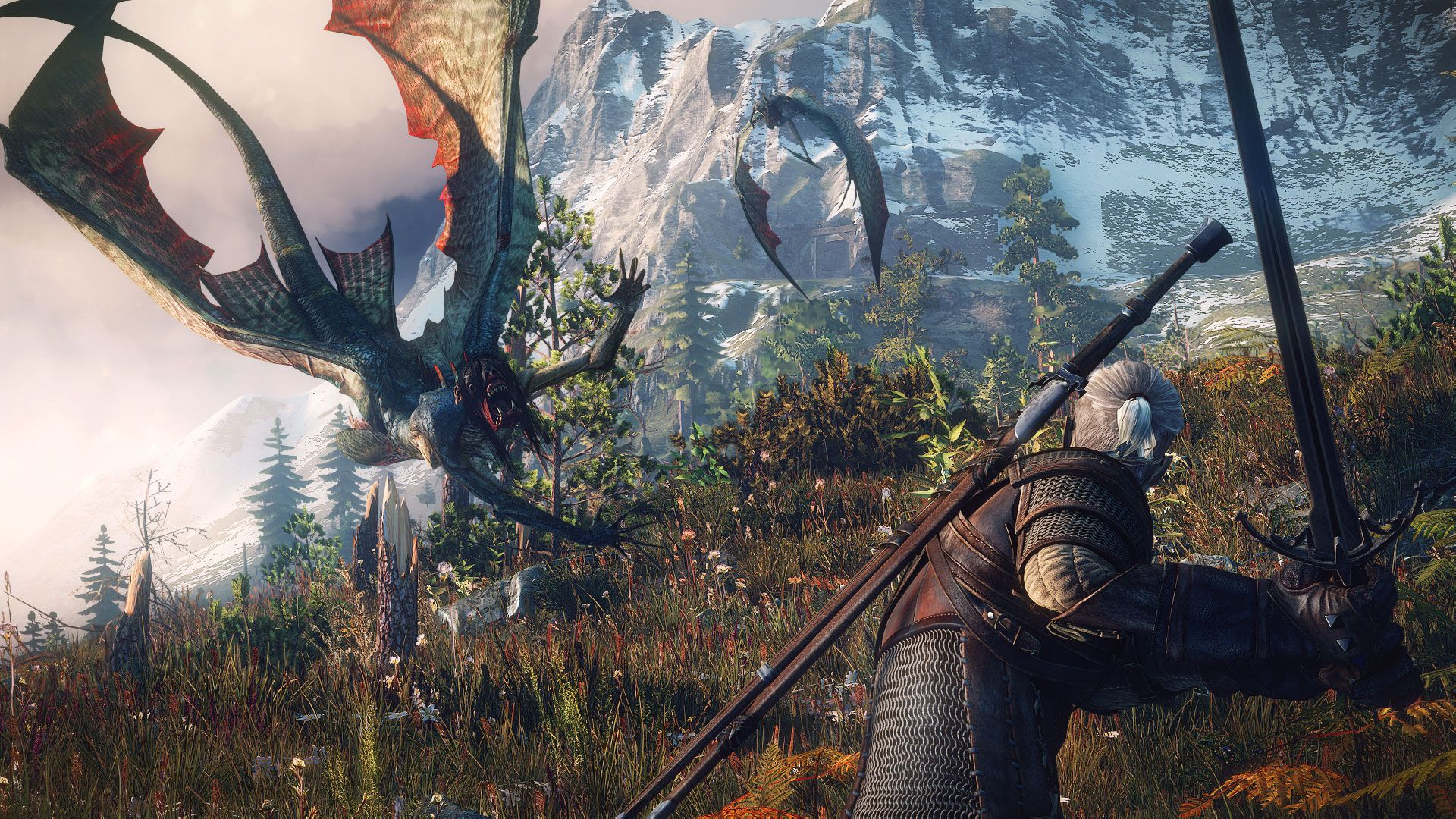 The Witcher 3 Wild Hunt The sirens may look beautiful in the water but once they re out of it they change into deadly flying creatures..0 Witcher 3 Game Of The Year Edition Gets Incredible First Trailer
