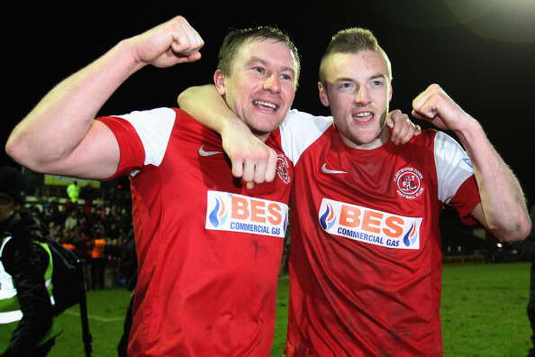 Vardy Fleetwood Getty Vardy Makes Shocking Claim About His Life After Title Winning Season