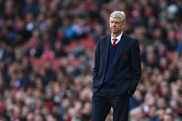 Arsenal Handed Final Blow In Chase For Attacker? Wenger Getty Stood neutral