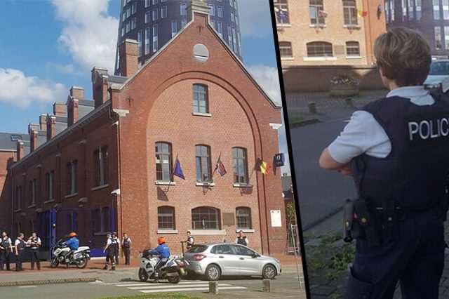 belgium attack FB 640x426 BREAKING: Man Shouting Allahu Akbar Attacks Two Police Officers With Machete