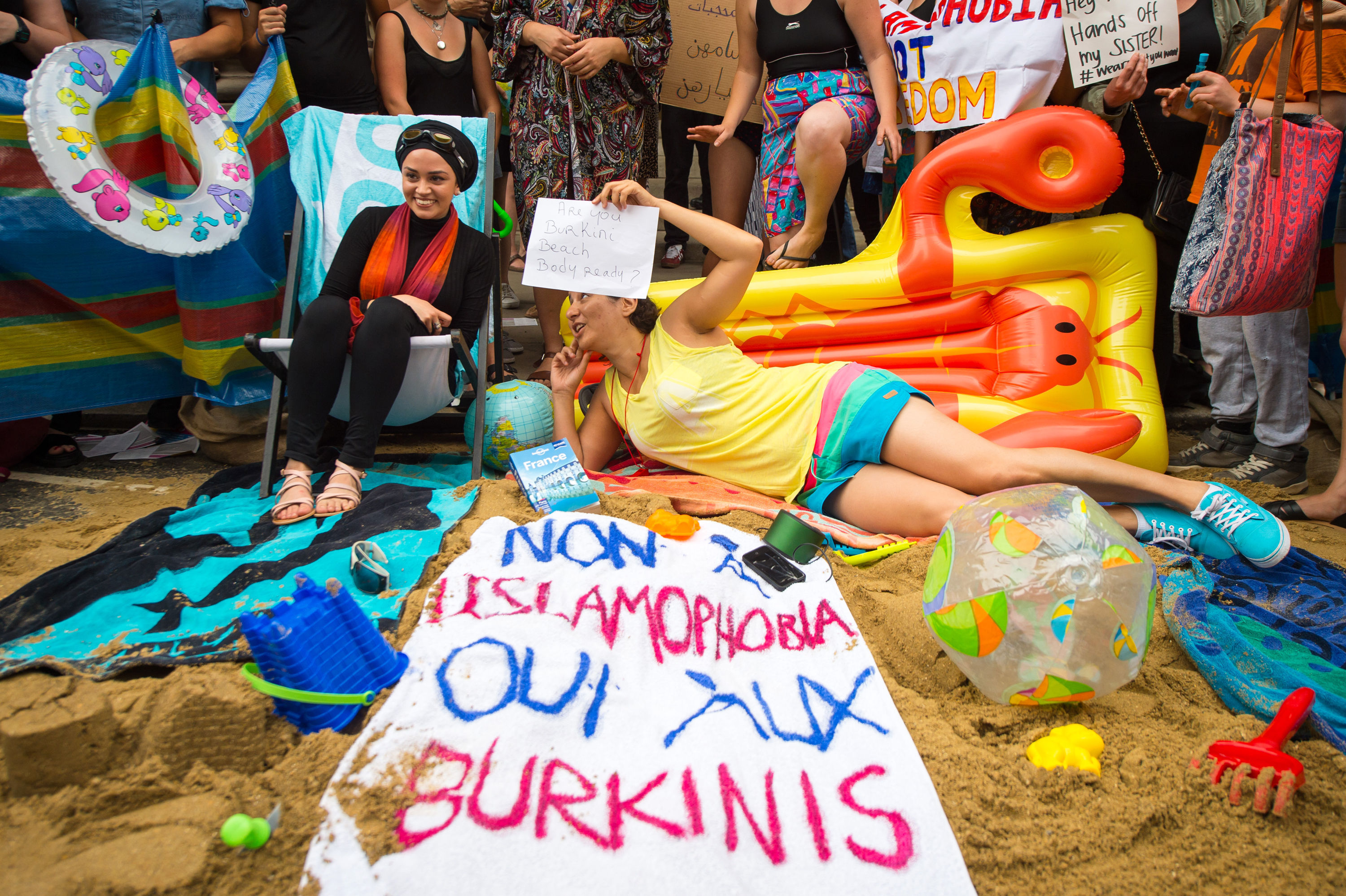 burkini3 Frances Burkini Ban Is Illegal According To Their Own High Court