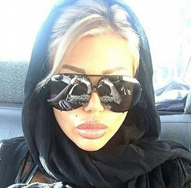 candy66 Porn Star Causes Outrage After Trip To Iran