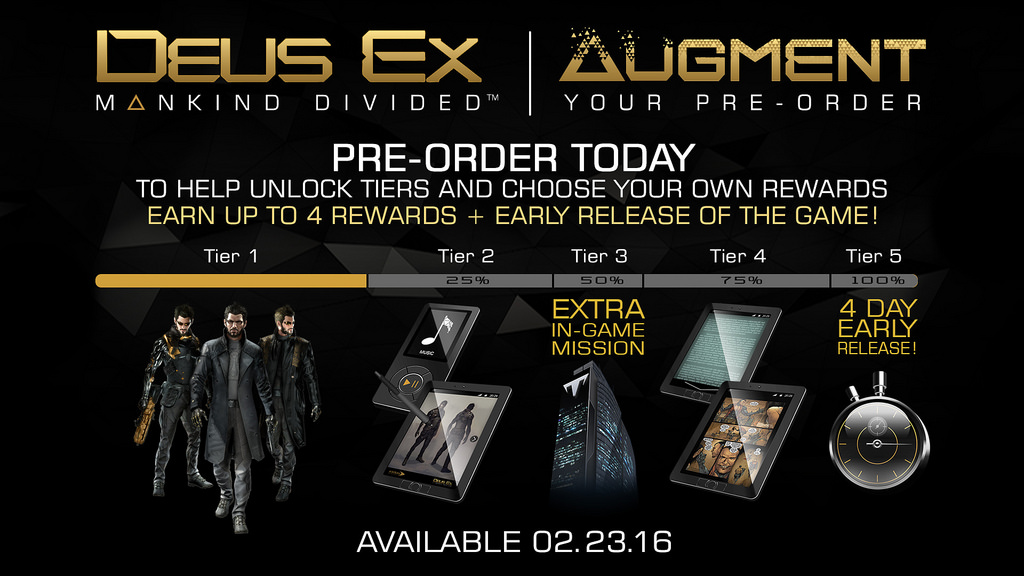 deusex preorder We Need To Talk About Videogame Pre Orders
