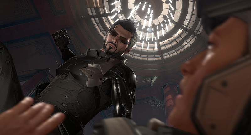 deusfacebook Deus Ex: Mankind Divideds Gritty Launch Trailer Drops