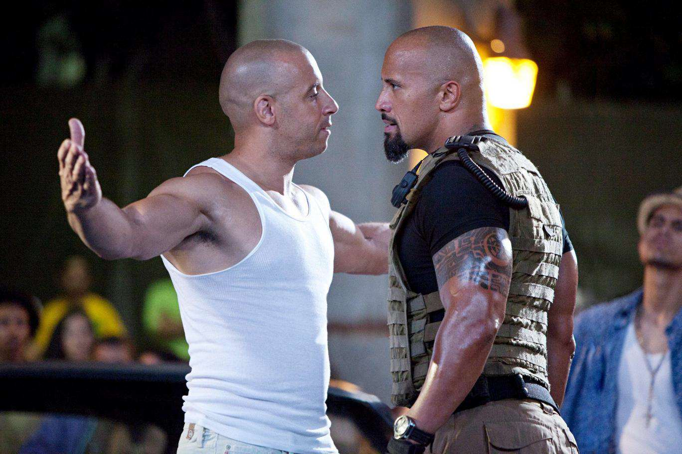 fast five01 The Rocks Fast 8 Co Stars Are Pretty Furious With Him After Rant