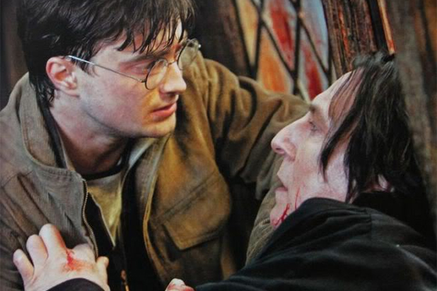 harry snape The Heartbreaking Meaning Behind Snapes First Words To Harry Potter