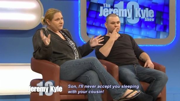 kyle2 Jeremy Kyle Guest Pleads Son To Stop Having Sex With Cousins