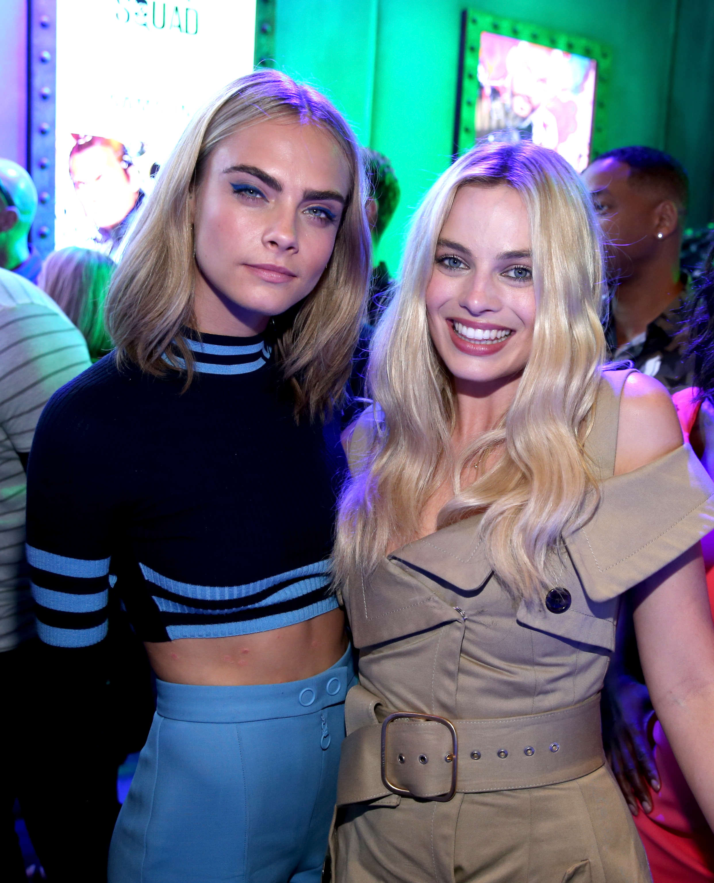 Margot Robbie And Cara Delevingne Reveal Their Most X Rated Sex Stories margot8888