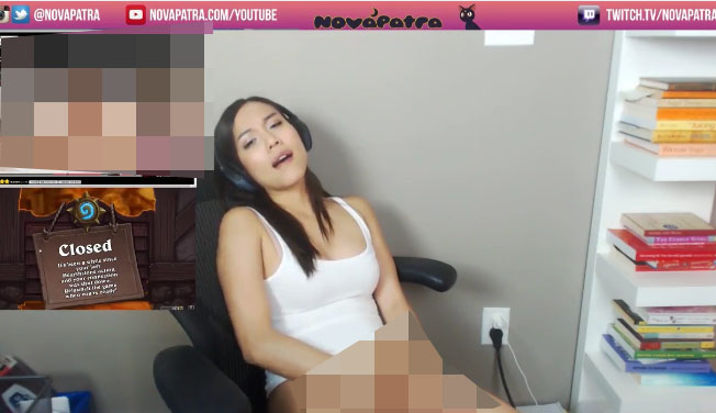 ns Gamer Girl Accidentally Caught Masturbating On Live Stream