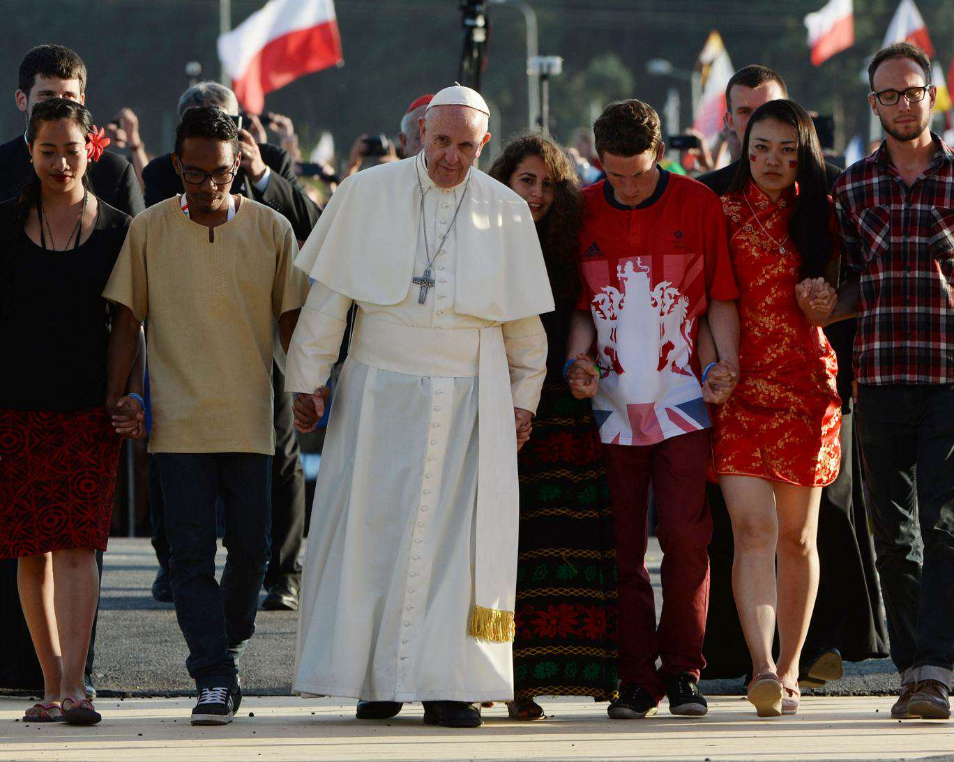 pope francis poland The Pope Wants You To Stop Playing Videogames