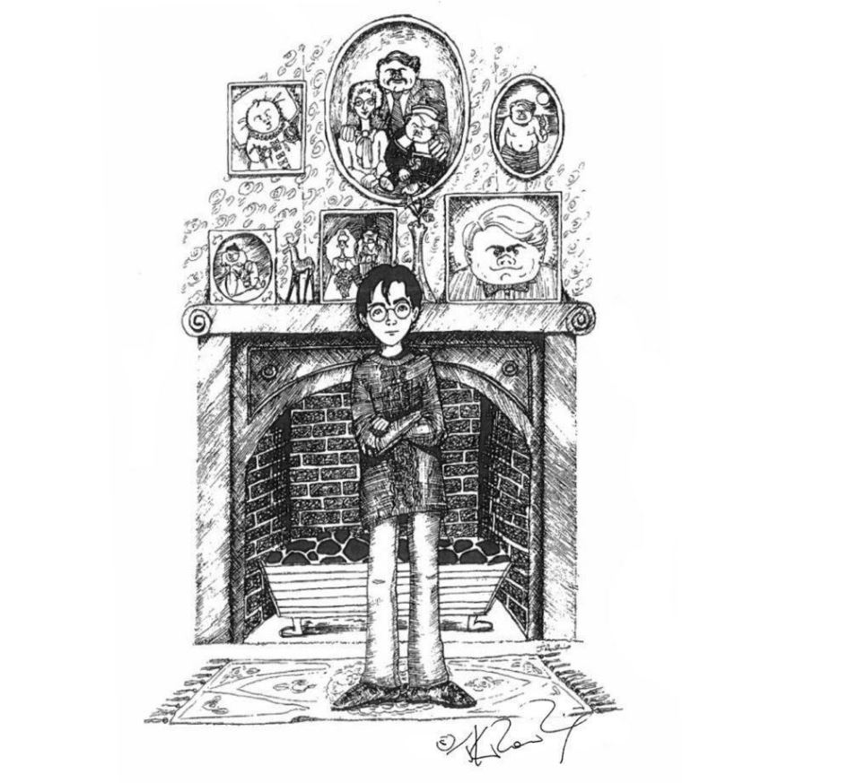 potter 3 JK Rowling Just Released Some Amazing Early Sketches Of Harry Potter Characters