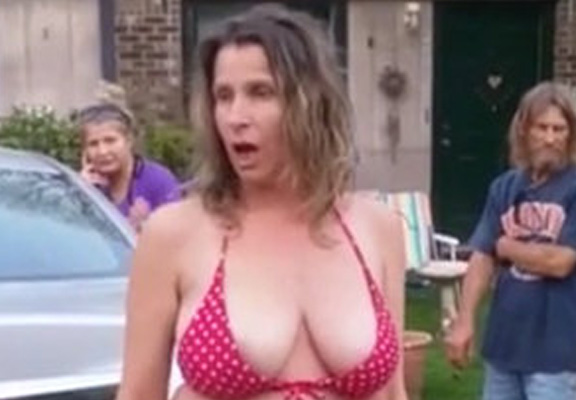 racist featured Video Shows Half Naked Mum Going On Vile Racist Rampage