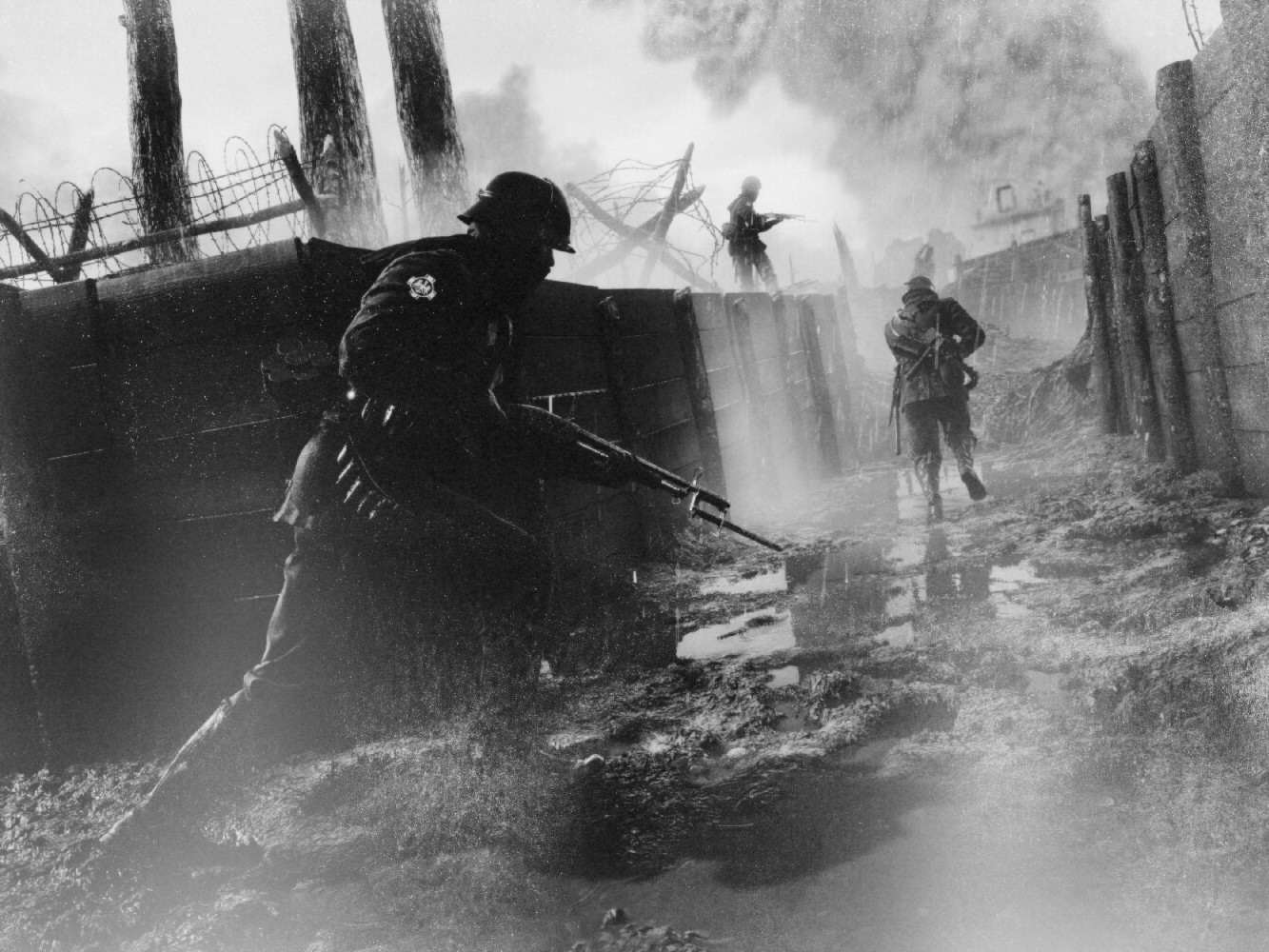 Battlefield 1 Screens Look Hauntingly Realistic With Black & White Filter tdE5Gqy