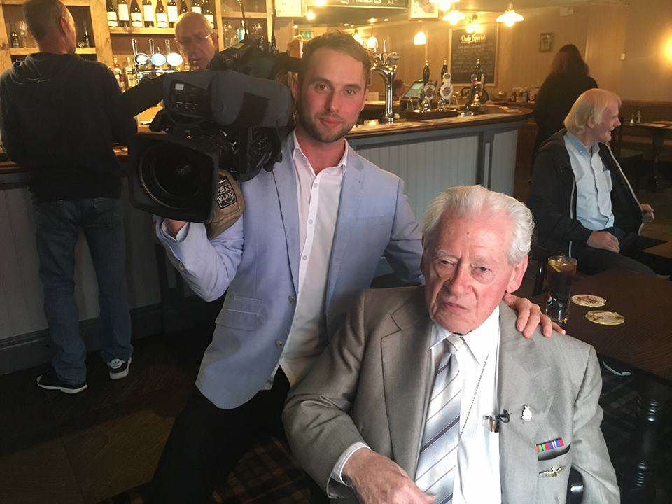 ted2 War Veteran, 96, Becomes Viral Sensation For Incredible Reason