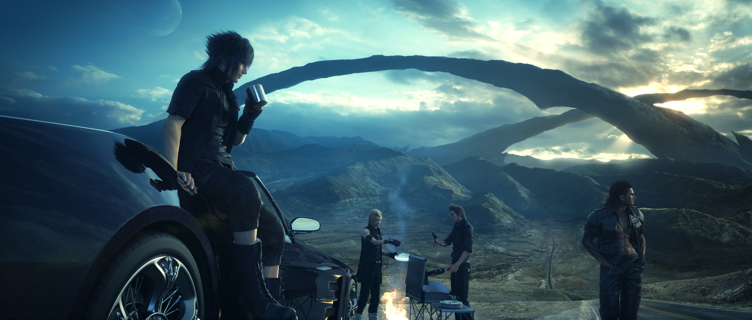 109174 Final Fantasy XV Gets Mental New Story Trailer