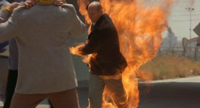 Fire People Reveal What It Feels Like To Be On Fire
