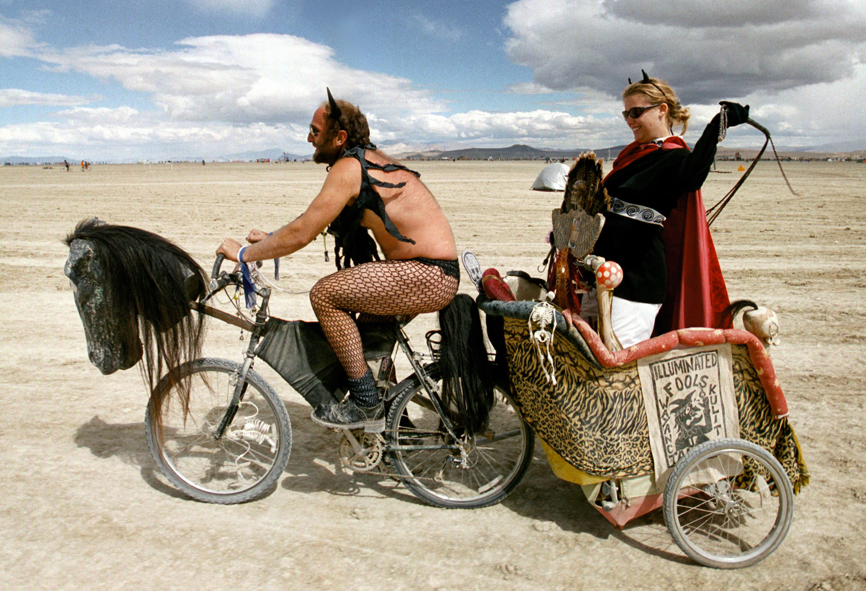 GettyImages 72307982 People Did Some Weird Sh*t At Burning Man Festival This Year
