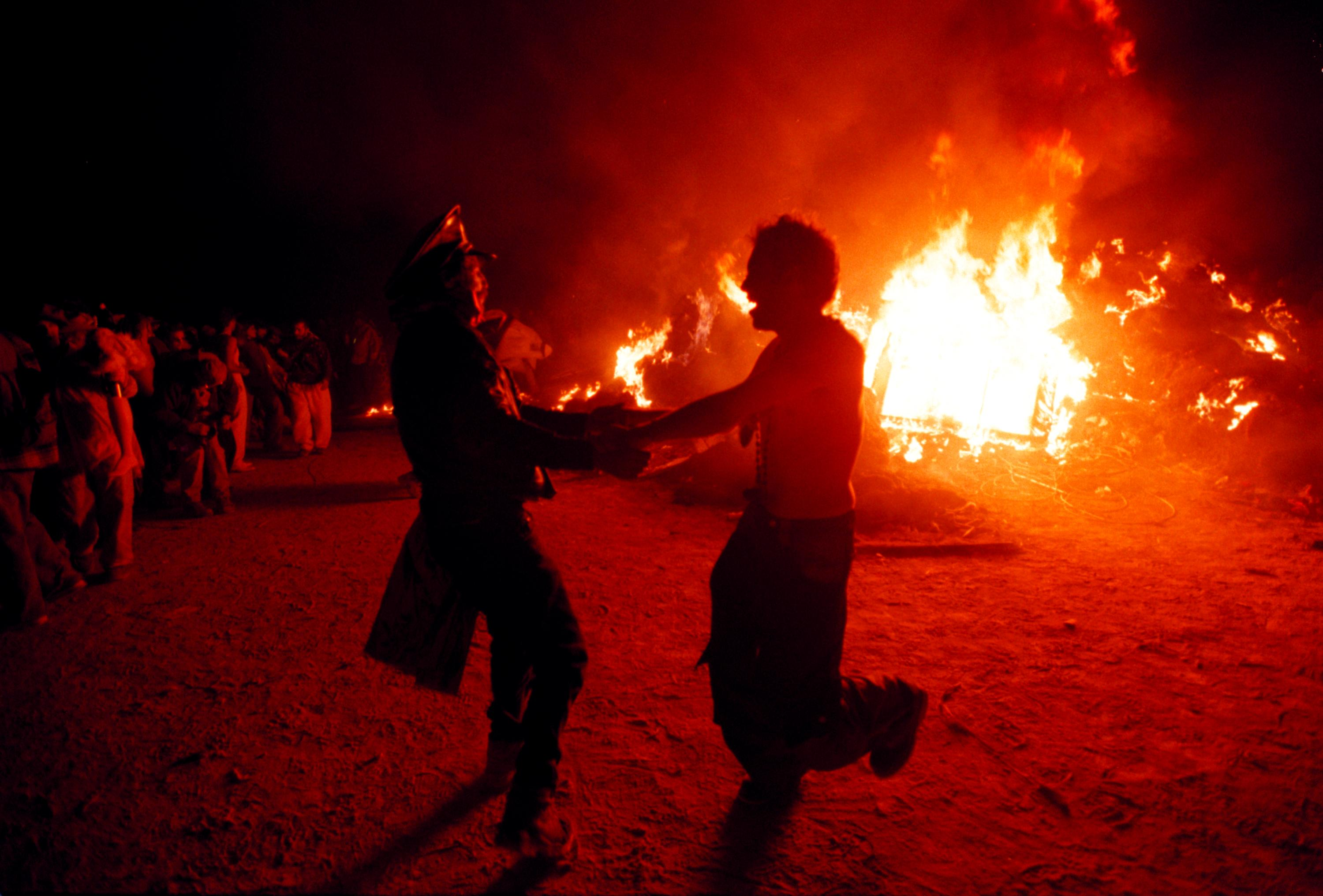 GettyImages 72327359 People Did Some Weird Sh*t At Burning Man Festival This Year