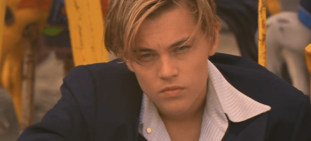 Leonardo DiCaprio as Romeo Montegue in Baz Luhrmanns Romeo Juliet 2 This Leonardo DiCaprio Lookalike Claims Hes Hotter Than Real Leo
