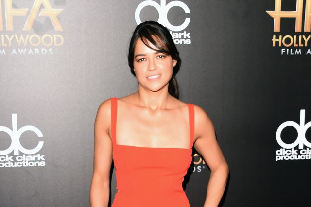 These Photos Of Michelle Rodriguez In Drag Made People Very Angry