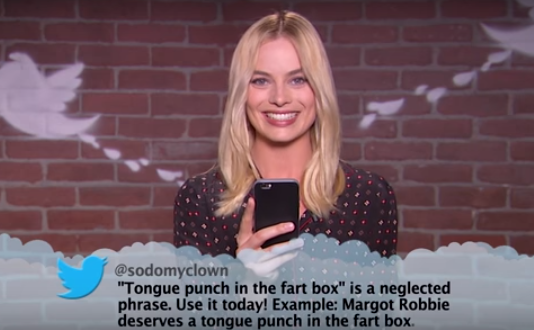 Tweets2 Margot Robbie And Other Celebrities Read Mean Tweets And Theyre Hilarious