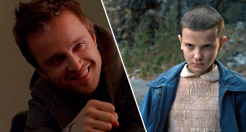 Aaron Paul And His Wife Adopted Stranger Things Star Millie Bobby Brown aaron thumb