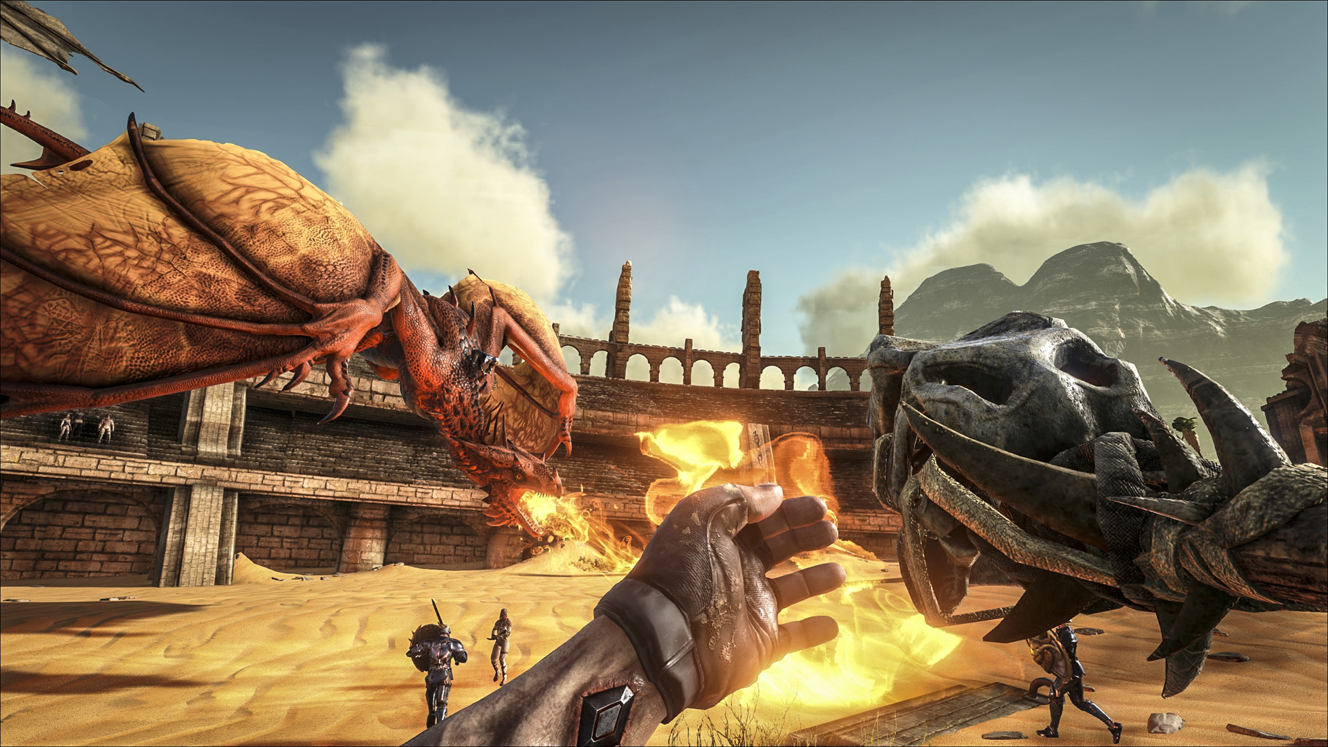 Arks First Expansion Out Now, Heres What It Includes ark survival evolved scorched earth 4