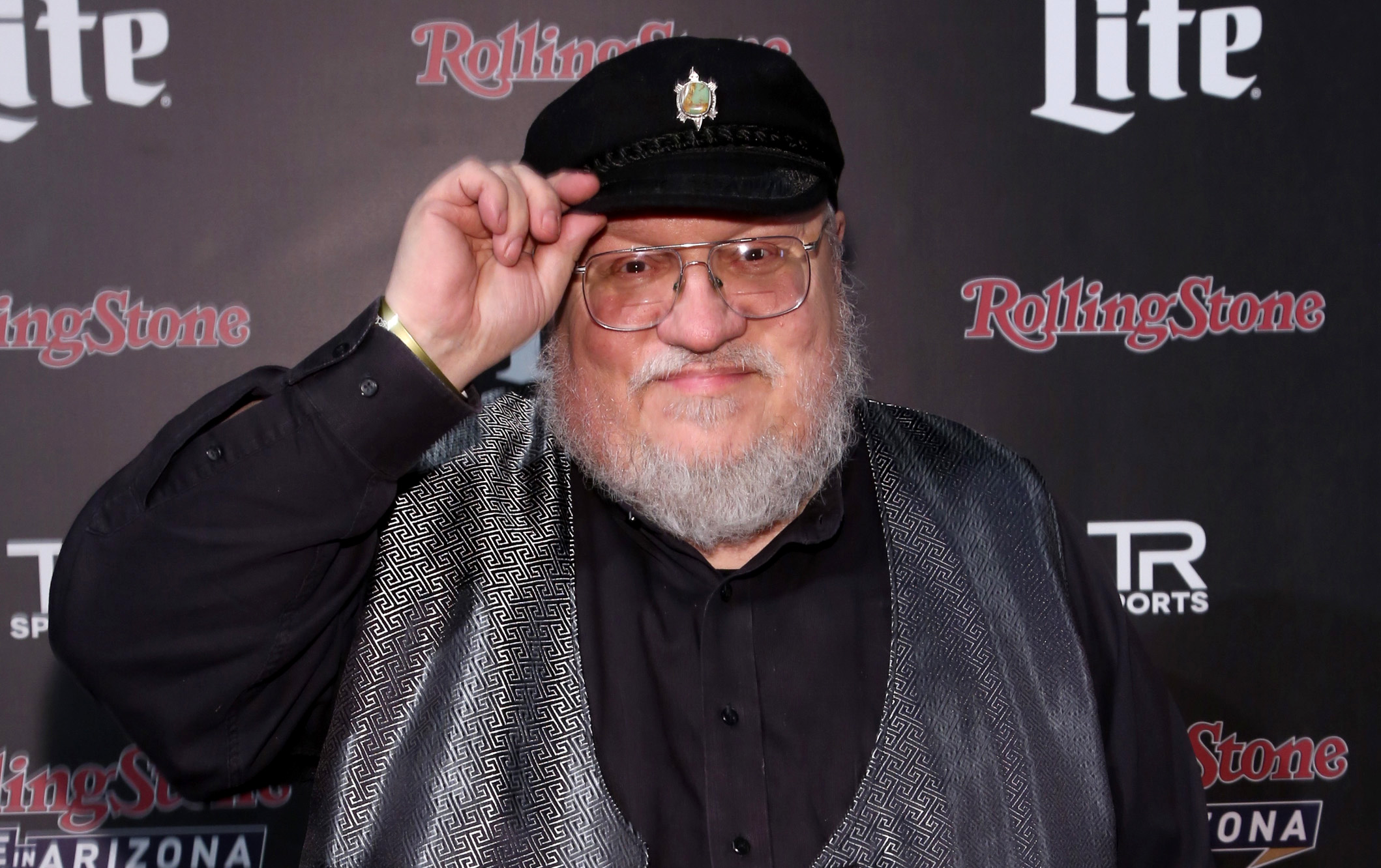 george rr 02 getty Next Game of Thrones Book Release Date Accidentally Leaked