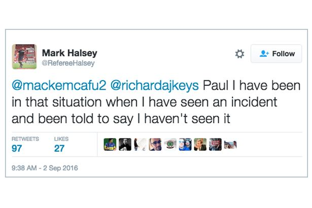 halsey Former Premier League Referee Makes Shocking Claim About Corruption