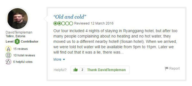 pic 3 3 These TripAdvisor Reviews Show How Miserable North Korea Really Is