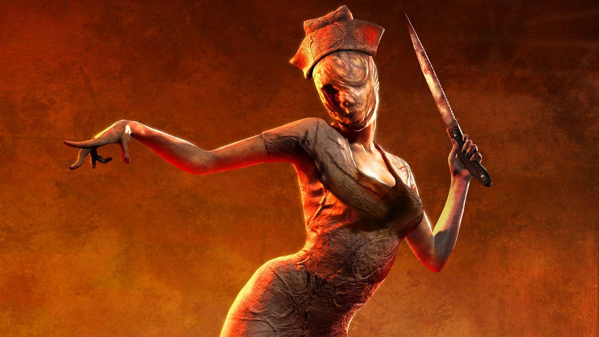 silent hill creepy nurse high Cancelled Silent Hill Game Footage Surfaces Online
