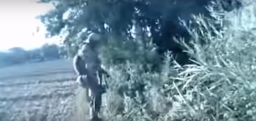 Viral Footage Shows Soldiers Taking Down Taliban Extremists soldier 2