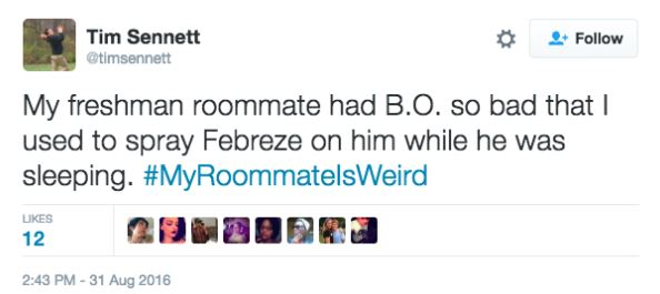 twitter 11 Twitter Users Share Their Weirdest And Wackiest Roommate Stories