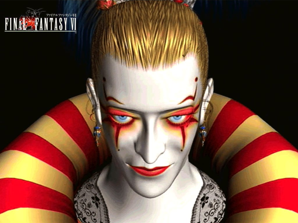 The Nine Creepiest Clowns In Gaming 11777UNILAD imageoptim Kefka CGI artwork