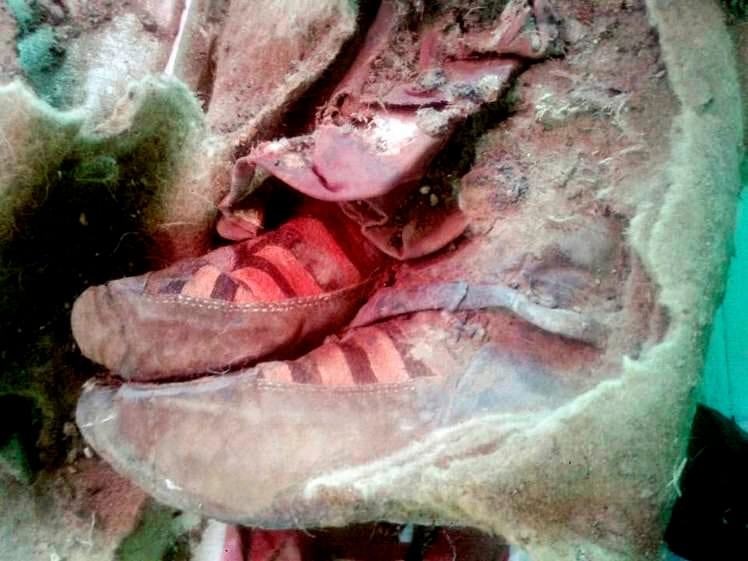 35168UNILAD imageoptim mummy1 Classic Adidas Predator Boot Found In Ancient Roman Fort Dig