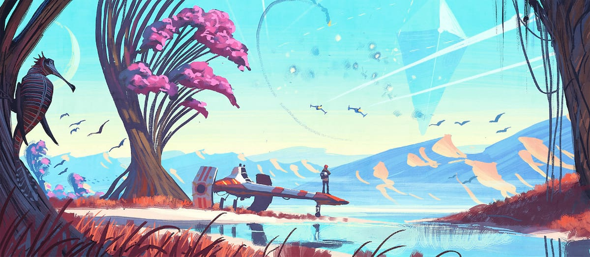 New Reports Suggest Real Reason No Mans Sky Cost £50 44537UNILAD imageoptim no mans sky art 4