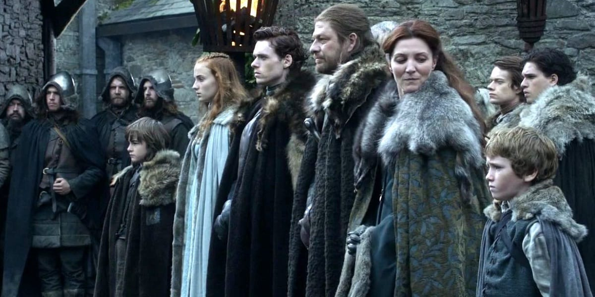 47367UNILAD imageoptim The Stark Family in Game of Thrones Leaked Photo Hints At Major Stark Reunion In Game Of Thrones