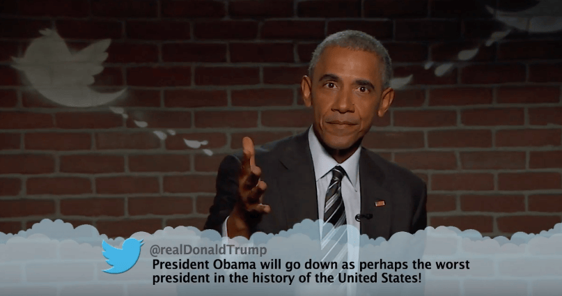 Barack Obama Absolutely Destroyed Trump During Mean Tweets 52031UNILAD imageoptim Screen Shot 2016 10 25 at 08.38.45