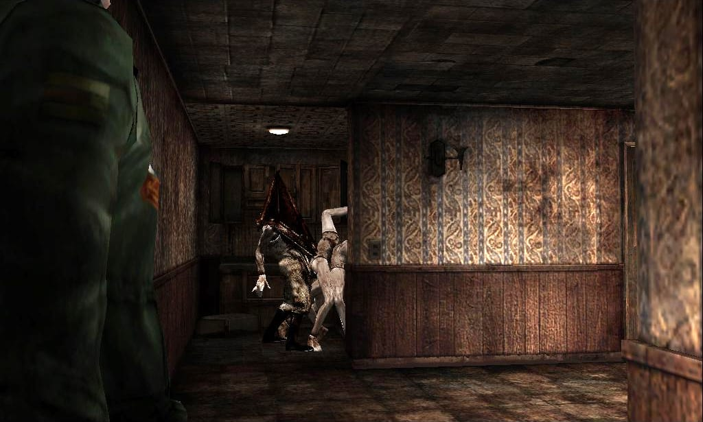 Silent Hills Monsters Have Some Pretty F*cked Up Backstories 60922UNILAD imageoptim Pyramid head and mannequins