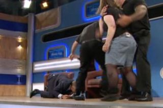 Jeremy Kyle Gets Floored By Woman Addicted To Drugs