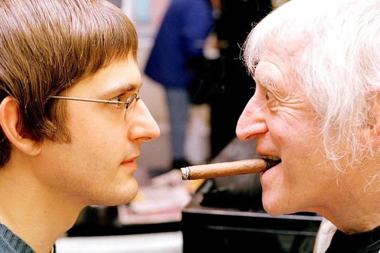 cf42639c ce3e 11e4  874026b Disturbing Clip Shows Jimmy Savile Grope Teen During Louis Theroux Documentary