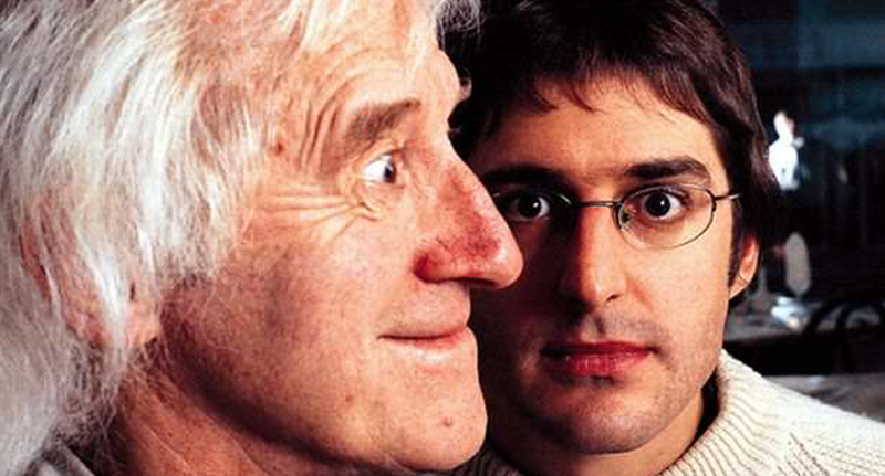 louis fb thumb Disturbing Clip Shows Jimmy Savile Grope Teen During Louis Theroux Documentary