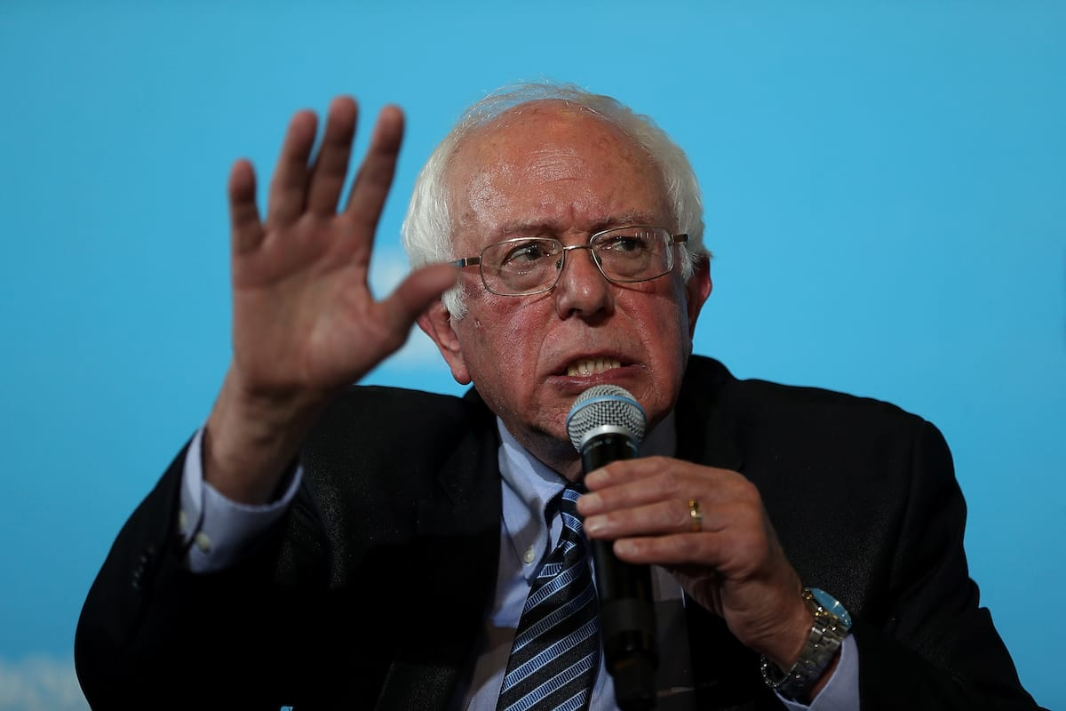 19623UNILAD imageoptim GettyImages 610995348 Bernie Sanders Responds To Trumps Win